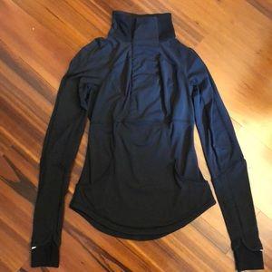 Lululemon Rulu pullover, black, 4